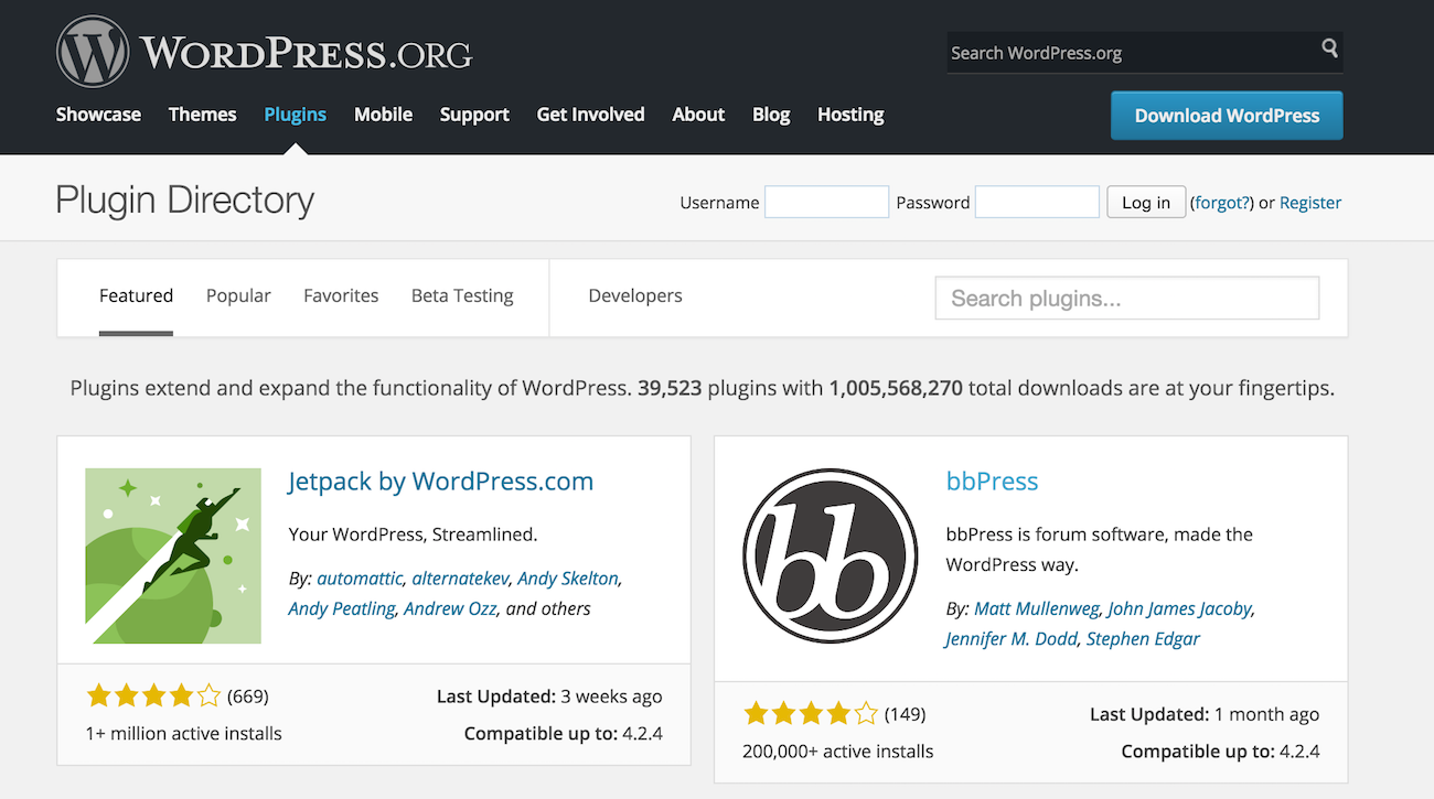 wordpress-plugin-repository
