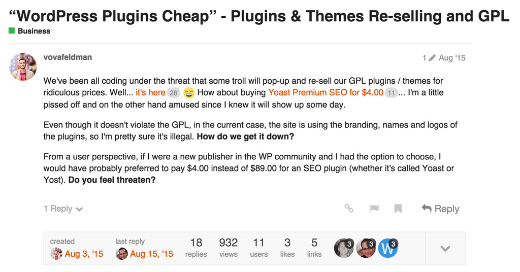 WPChat WordPress Plugin Resell GPL