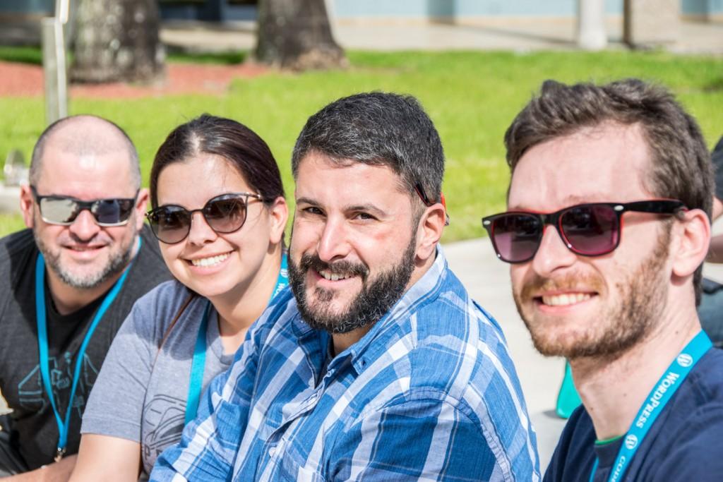 Matt Medeiros and friends