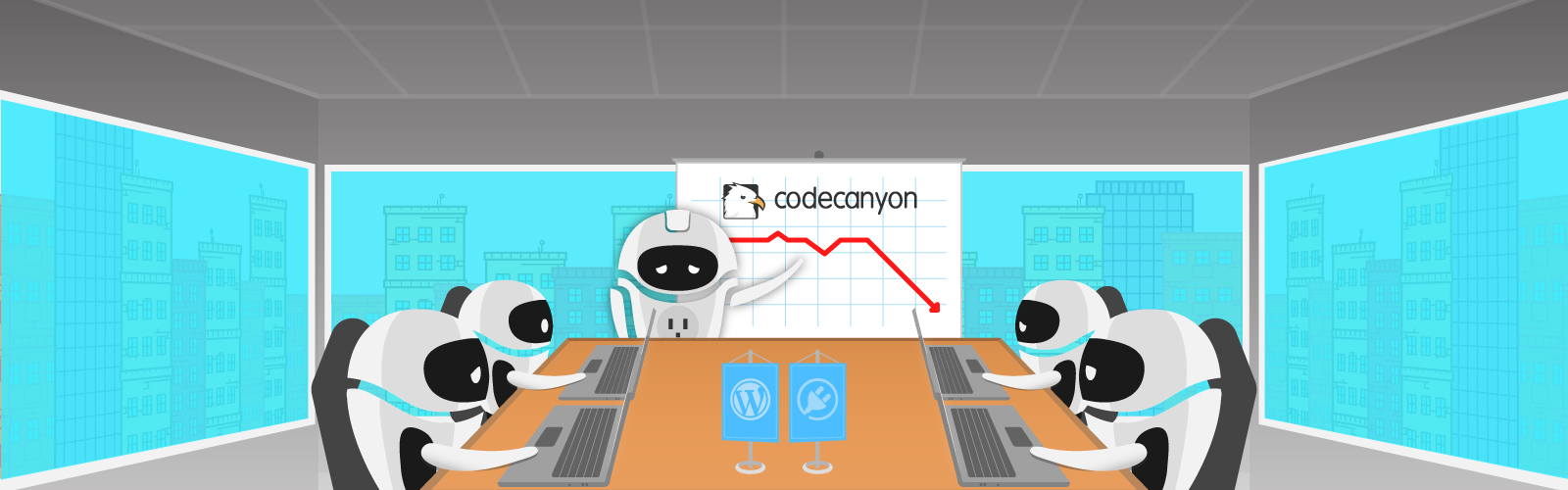 CodeCanyon numbers are decreasing