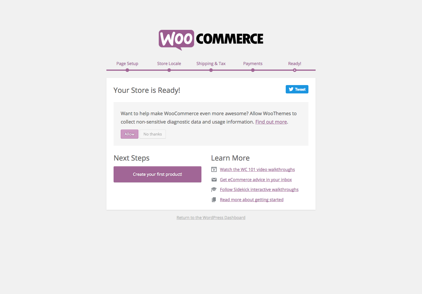 WooCommerce opt-in
