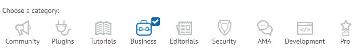 ManageWP categories