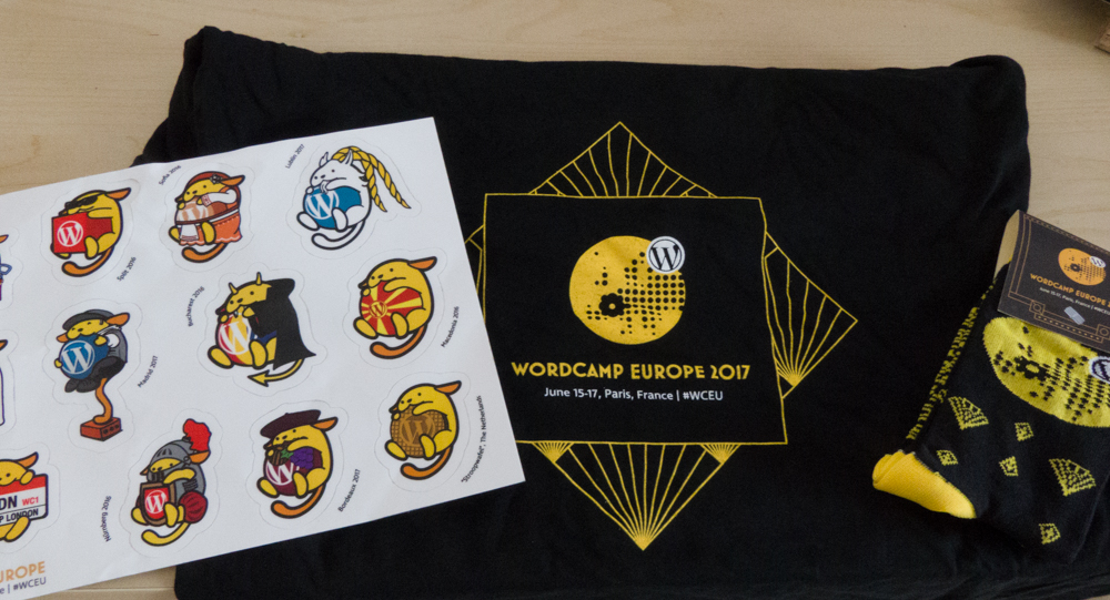 WC EU 2017 Swag for Leo