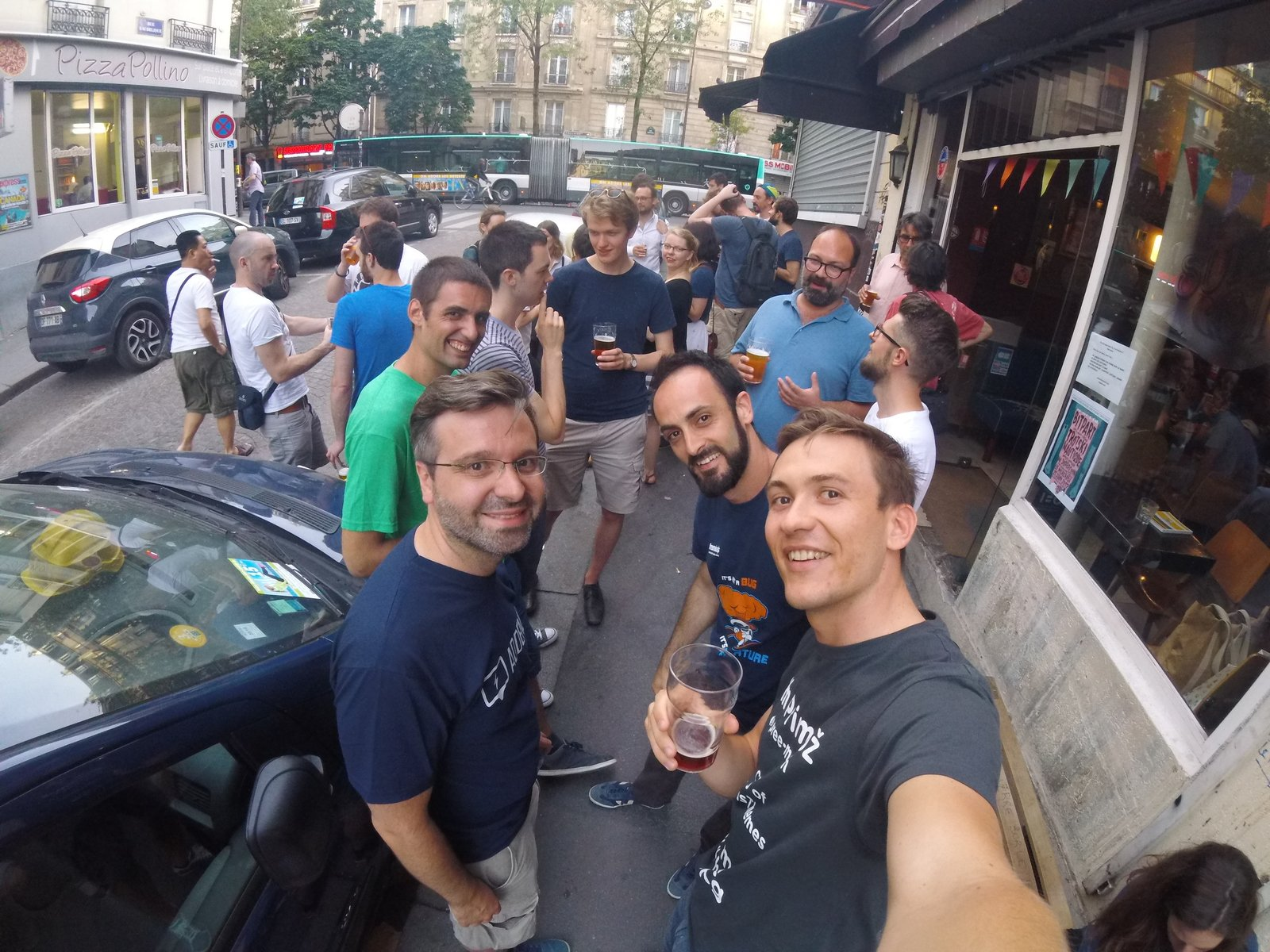 WP makers drinkup in Paris
