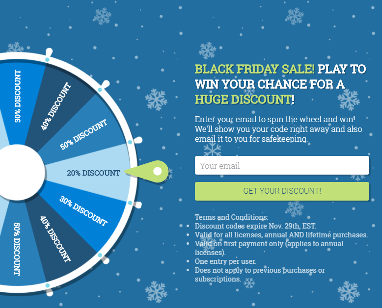 Gamify your Black Friday promotions