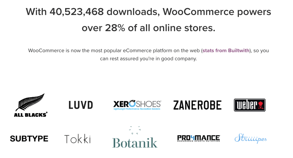 logo brand who use WooCommerce