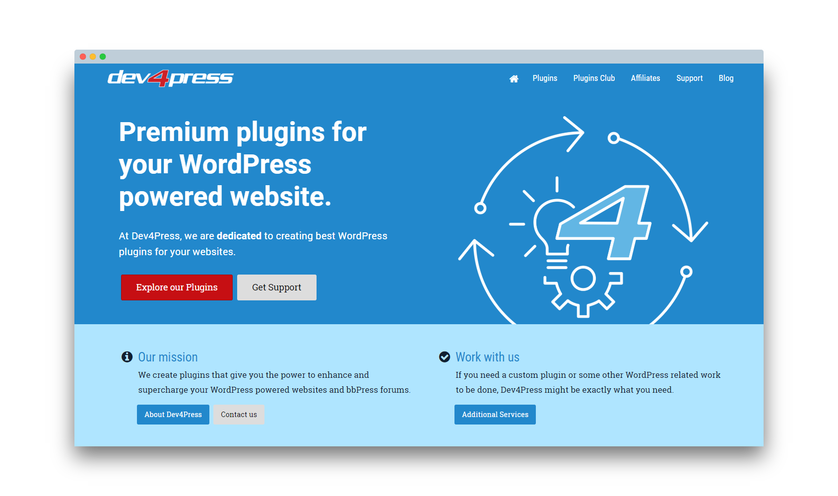 Dev4Press − Premium Plugins and Addons for WordPress