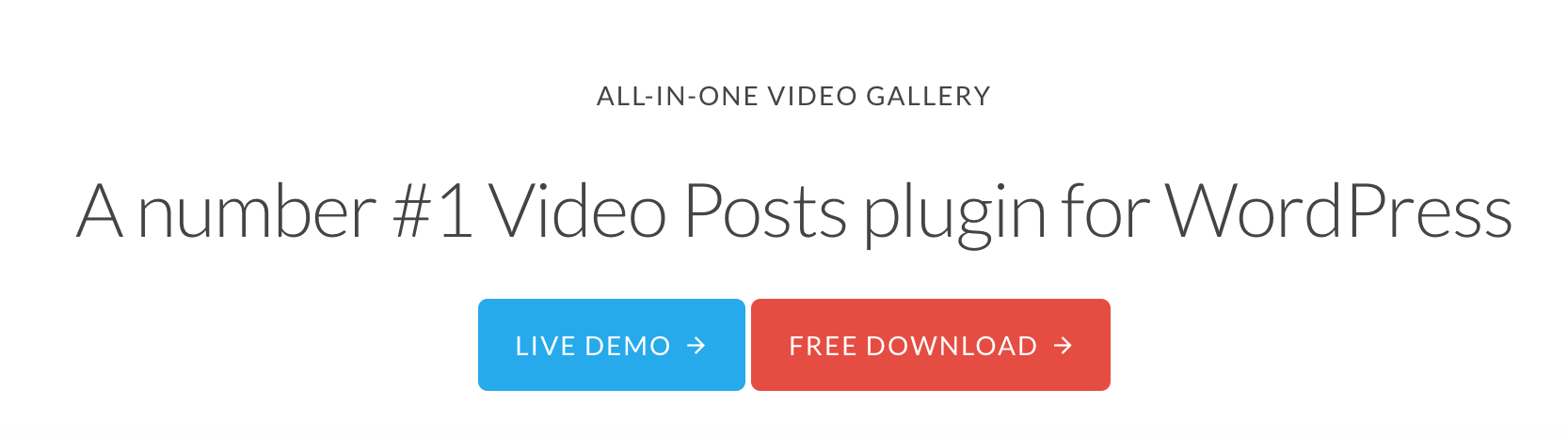 All-in-One Video Gallery Call-to-Action Buttons