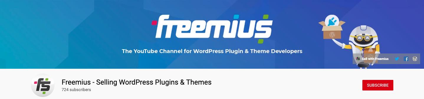 Freemius YouTube Channel