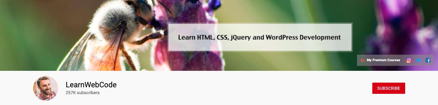 LearnWebCode YouTube Channel