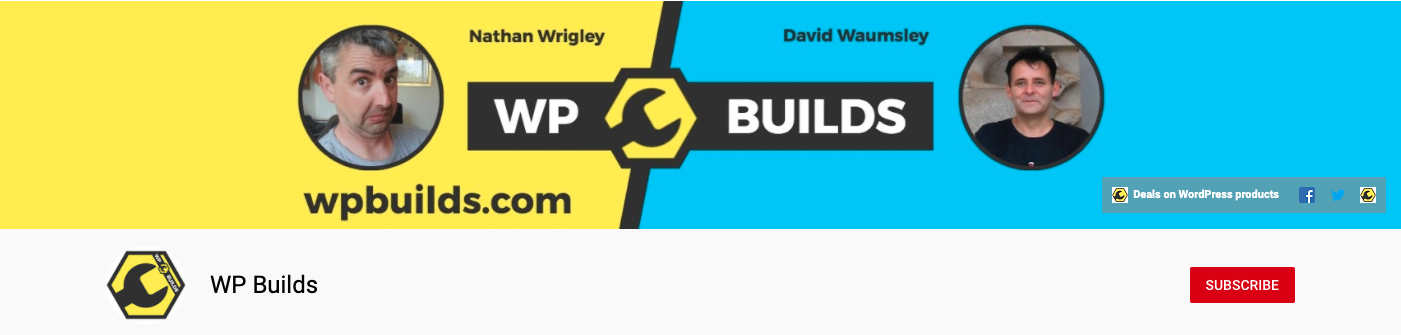 WP Builds YouTube Channel Podcast