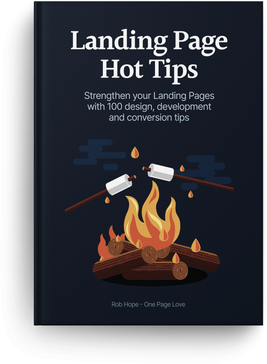 Landing Page Hot Tips eBook