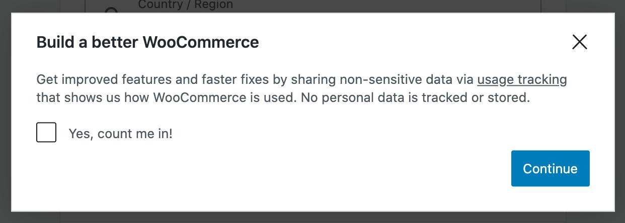 WooCommerce Opt-in Mechanism Popup