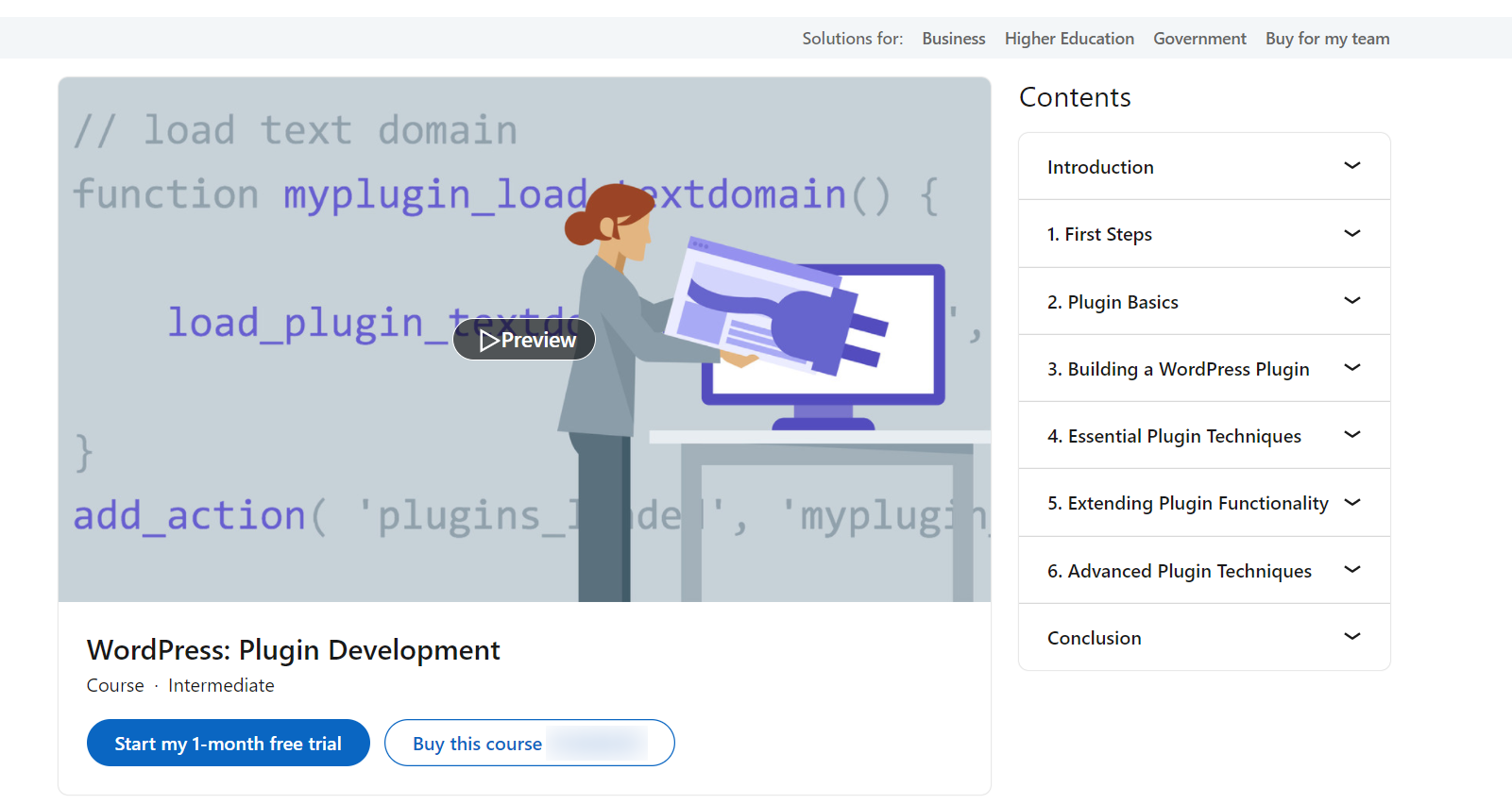 WordPress: Plugin Development